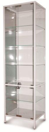 Шкаф пенал стеклянный медицинский ШМ 002