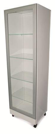 Шкаф со стеклянной дверцей медицинский ШМ 012