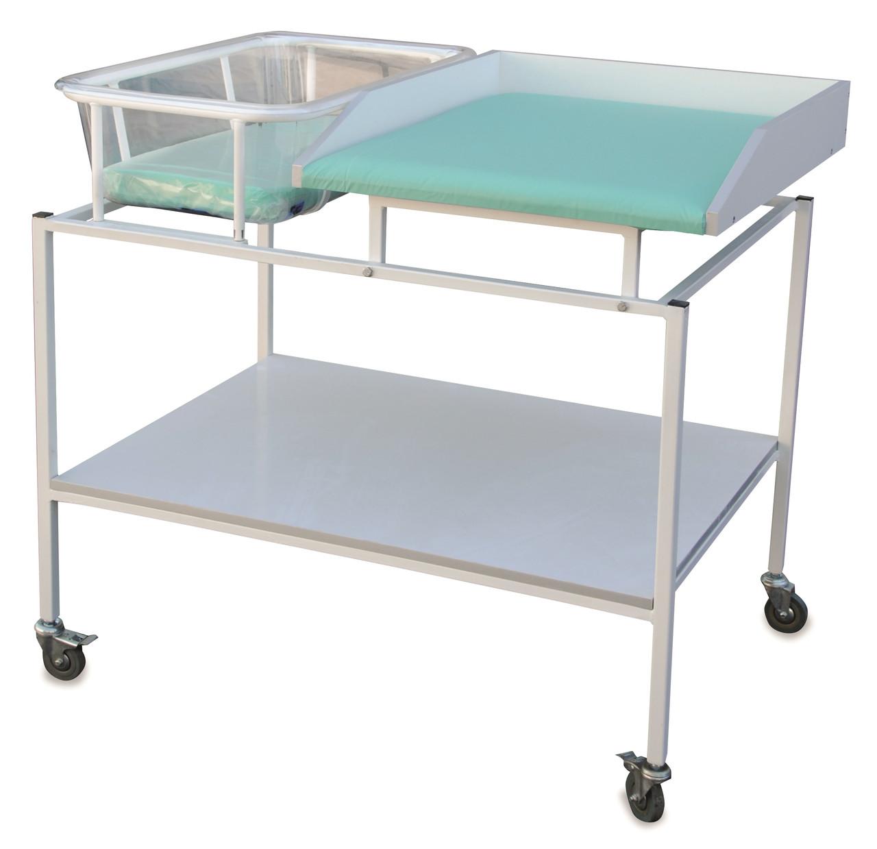 Столик пеленальный СТП 004 с люлькой СТП 004