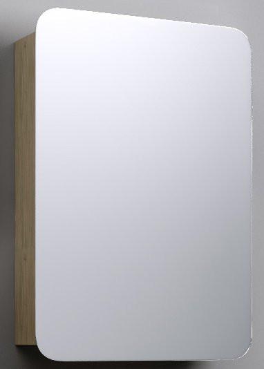 """""""Бриг""""шкаф-зеркало, цвет белый, Br.04.06/W, ТМ «AQWELLA»"""