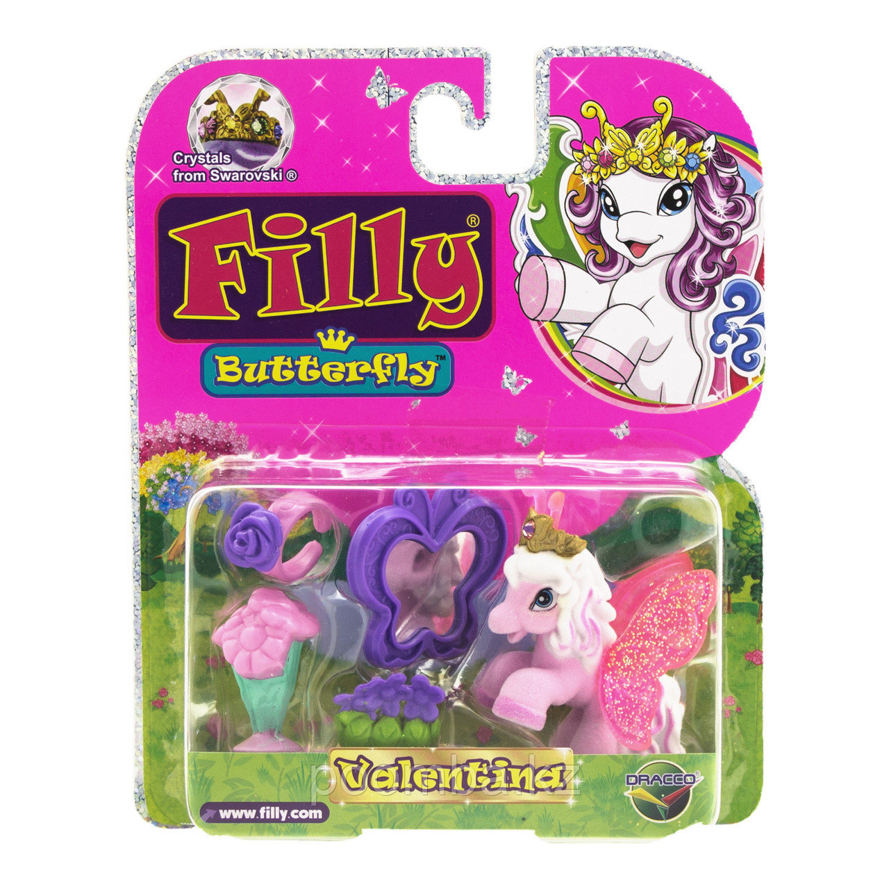 "Игровой набор Filly""Butterfly Glitter""с аксессуарами - Valentina"