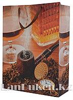 """Подарочный пакет """"Курительная трубка"""" (41,5* 32* 11 см)"""