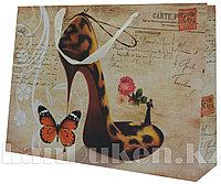 """Подарочный пакет """"Туфелька с бабочкой"""" (43,5* 32* 11,5 см)"""