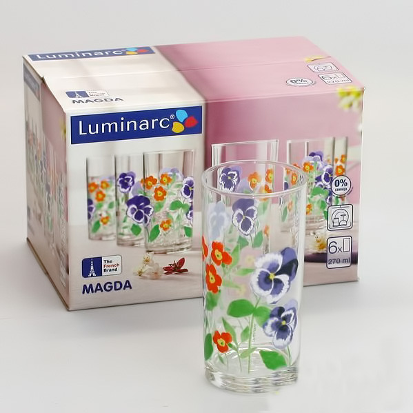 Набор стаканов Luminarc Magda 6 штук
