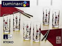 Набор стаканов Luminarc Kyoko White 6 штук