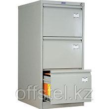 Металлический картотечный шкаф (картотека) ПРАКТИК AFC-03