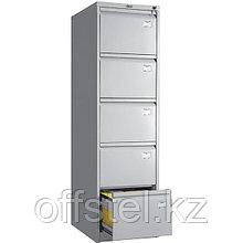 Металлический картотечный шкаф (картотека) ПРАКТИК AFC-05