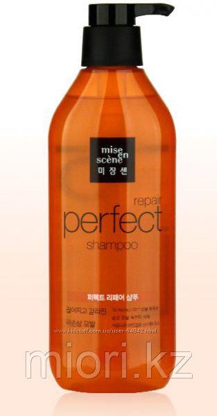 Восстанавливающий шампунь для волос Mise En Scene Perfect Repair Shampoo,680мл
