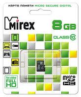 Micro sd 8 gb Mirex 10 Class оригинал