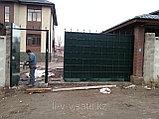 Уличные металлические ворота, фото 2