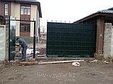 Уличные металлические ворота, фото 3