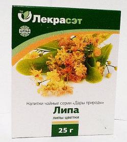 Липа, цветки, 25 г