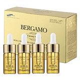 Увлажняющий, восстанавливающий набор сывороток с золотом и коллагеном Bergamo Luxury Gold Collagen Ampoule Set, фото 2