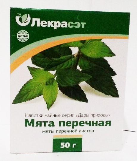 Мята, лист, 50 г