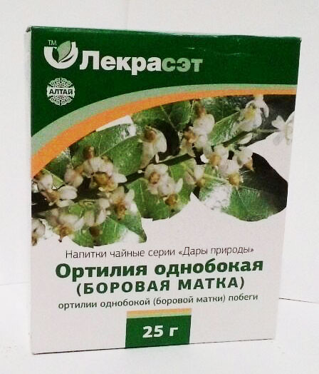 Ортилия однобокая (боровая матка побеги), 25 г