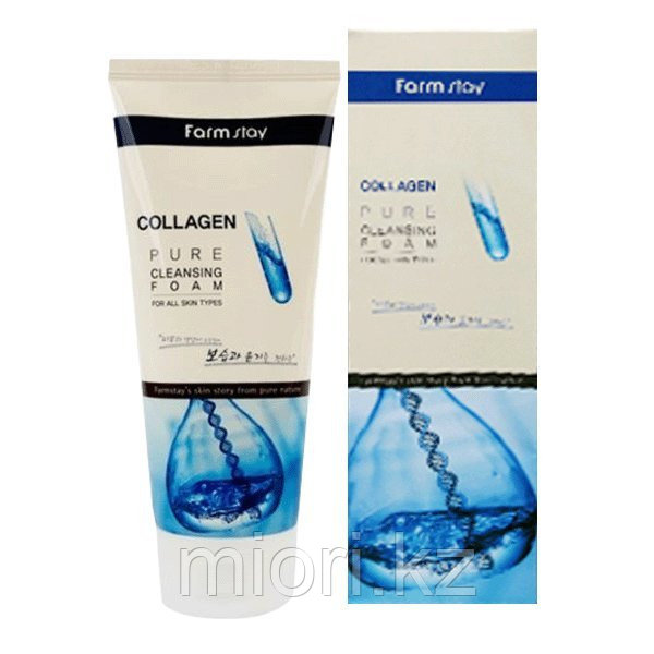 Pure Cleansing Foam Collagen [FarmStay]