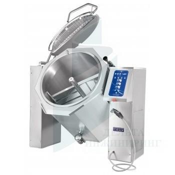 Котел пищеварочный опрокидывающийся Abat КПЭМ-250-ОМП с миксером