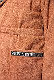 Махровый домашний мужской халат. Россия, фото 2