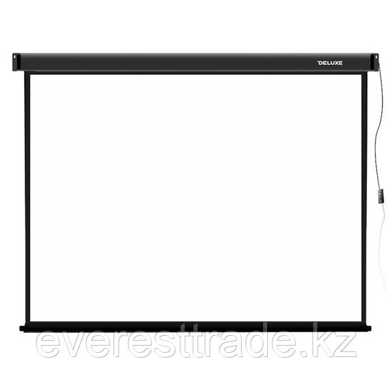 Экран для проекторов, Deluxe, DLS-E305-229, Моторизированный