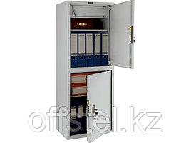 Шкаф металлический бухгалтерский ПРАКТИК SL-125/2Т