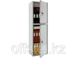 Шкаф металлический бухгалтерский ПРАКТИК SL-150/2Т