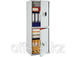Шкаф металлический бухгалтерский ПРАКТИК SL-125/2Т EL