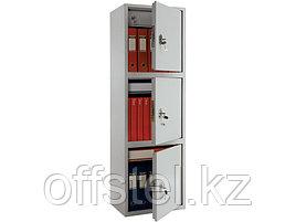 Шкаф металлический бухгалтерский ПРАКТИК SL-150/3Т