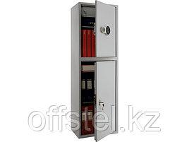 Шкаф металлический бухгалтерский ПРАКТИК SL-150/2Т EL