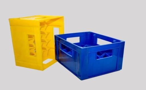 Ящик бутылочный Штабелируемый