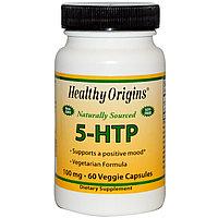 Healthy Origins,5-HTP  100 мг, 60 капсул.Гриффония