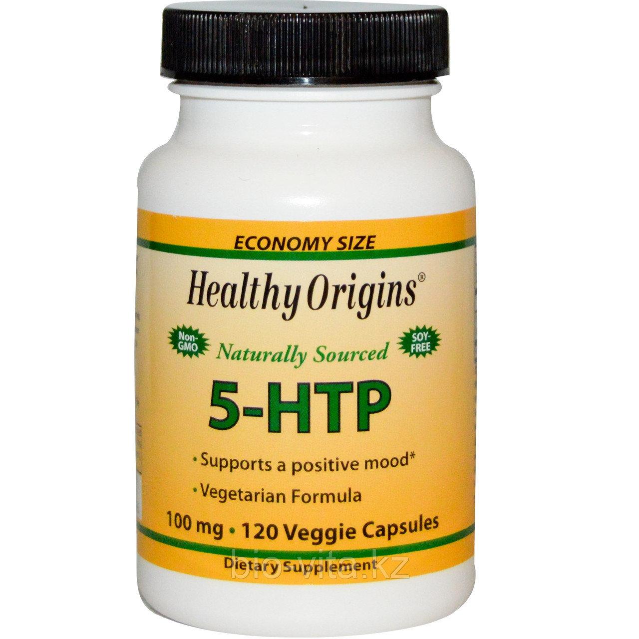 Healthy Origins 5 -HTP 100 мг, 120 капсул.Гриффония