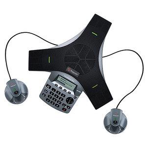 Аудиоконференция Polycom SoundStation Duo  + дополнительные микрофоны