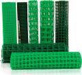Сетка пластиковая для ограждения, заборная полимерная рабица