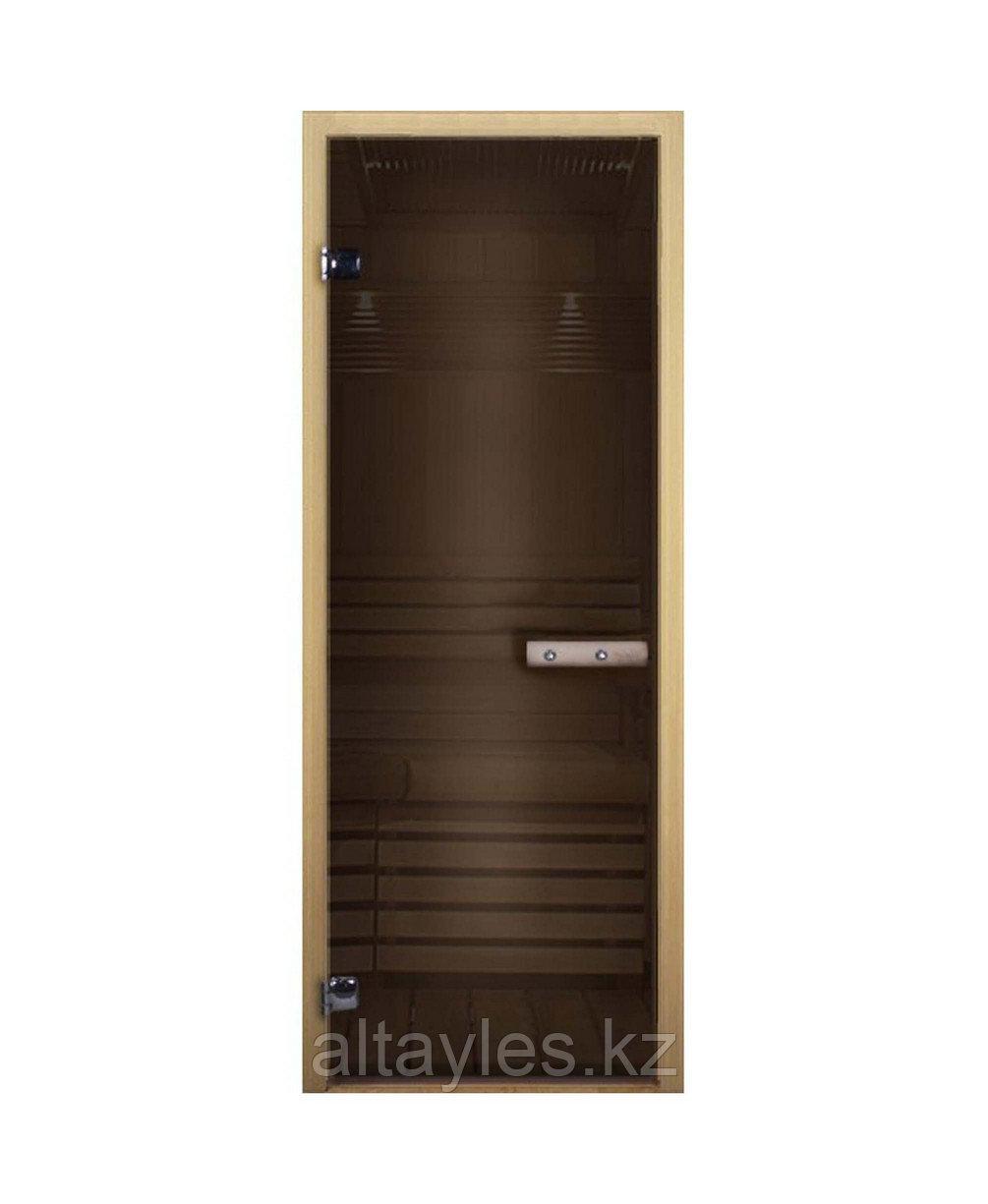 Дверь стеклянная для бани и сауны (термостекло)