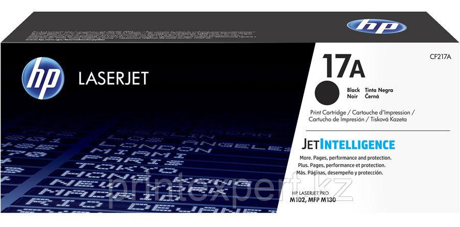 HP CF217A 17A Black Original LaserJet Toner Cartridge for LaserJet M102/M130