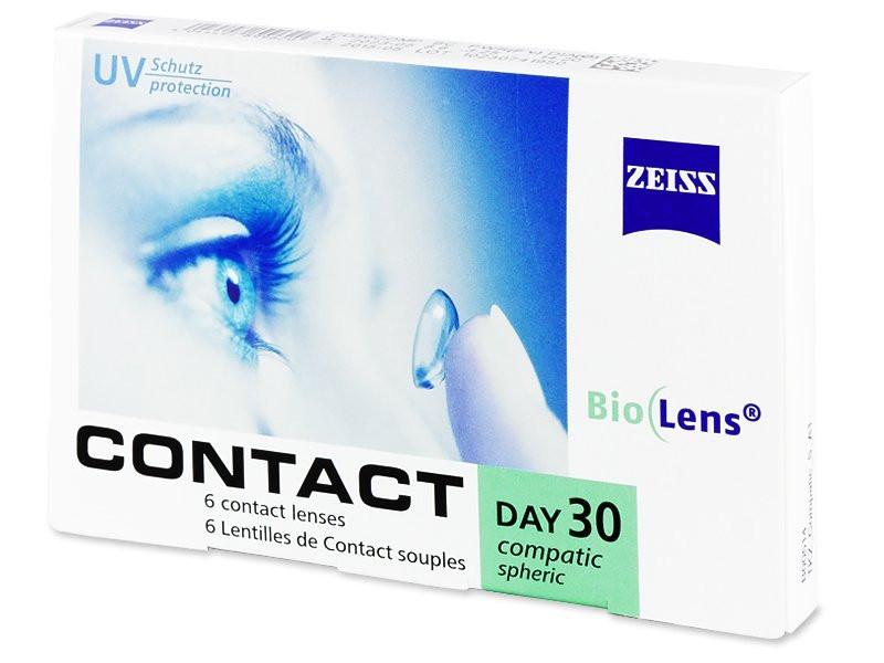 Zeiss Contact Day 30 Spheric (6 блистеров) Месячные контактные линзы - фото 1