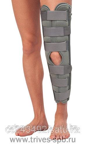 Бандаж для полной фиксации коленного сустава(60 см)