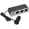 Тройник гнезда прикуривателя c USB