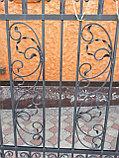 Металлический забор, фото 2