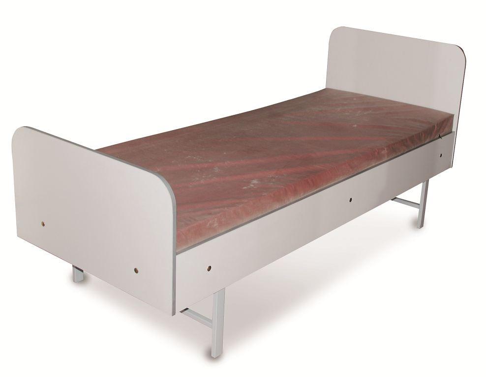 Кровать палатная с металлическим каркасом КФ 008