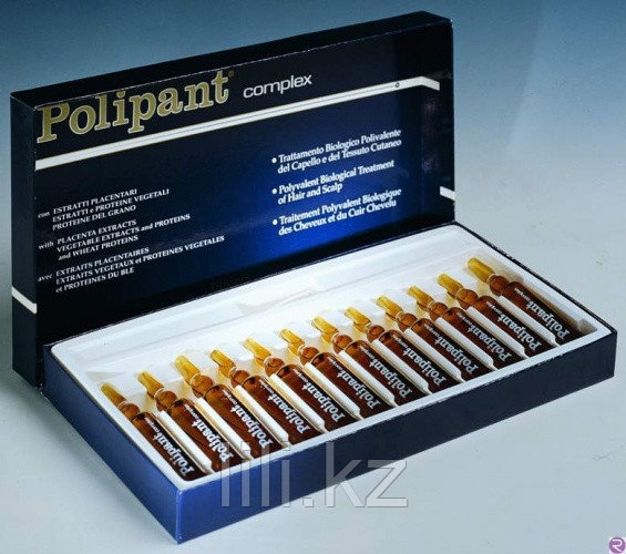 Ампулы против выпадения волос и для стимуляции роста волос Dikson Polipant Complex 12x10 мл.