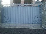 Ворота из металла, с установкой, фото 2