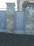 Ворота из металла, с установкой, фото 4