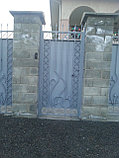 Ворота из металла, с установкой, фото 3
