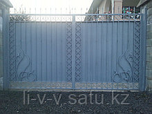 Ворота из металла, с установкой