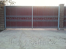 Кованые ворота из металла
