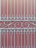 Кованые ворота из металла, фото 2