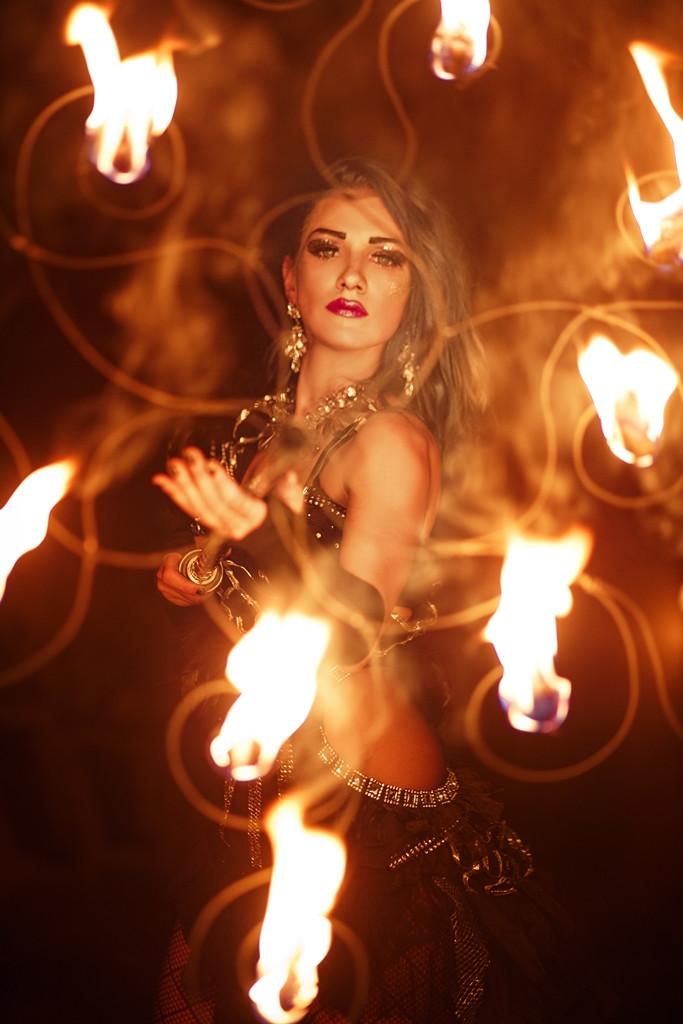 Огненное пиротехническое шоу Kashmir – fireshow