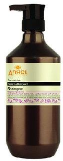 Шампунь для вьющихся волос с экстрактом розы 400 ml Angel Provence