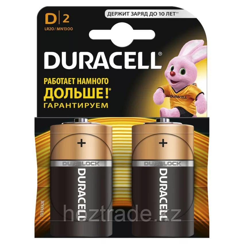 Батарейка D duracell (2 шт)